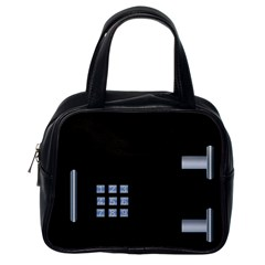 Safe Vault Strong Box Lock Safety Classic Handbags (one Side) by Nexatart