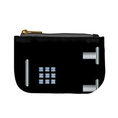 Safe Vault Strong Box Lock Safety Mini Coin Purses by Nexatart