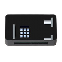 Safe Vault Strong Box Lock Safety Memory Card Reader With Cf by Nexatart