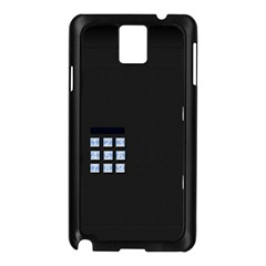 Safe Vault Strong Box Lock Safety Samsung Galaxy Note 3 N9005 Case (black)