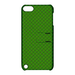 Paper Pattern Green Scrapbooking Apple Ipod Touch 5 Hardshell Case With Stand