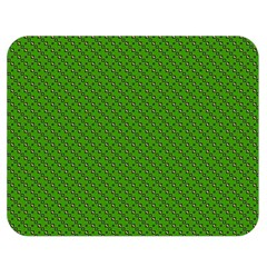 Paper Pattern Green Scrapbooking Double Sided Flano Blanket (medium)  by Nexatart