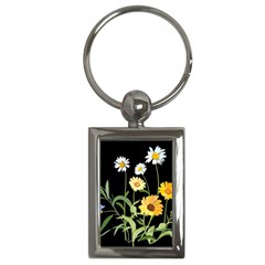 Flowers Of The Field Key Chains (rectangle)