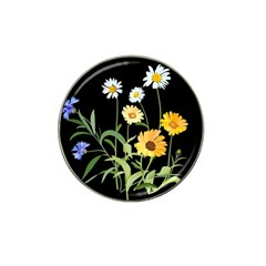 Flowers Of The Field Hat Clip Ball Marker (10 Pack)