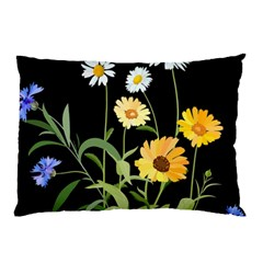 Flowers Of The Field Pillow Case