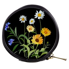Flowers Of The Field Mini Makeup Bags by Nexatart