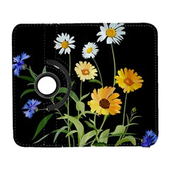 Flowers Of The Field Galaxy S3 (flip/folio) by Nexatart
