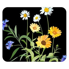 Flowers Of The Field Double Sided Flano Blanket (small)  by Nexatart