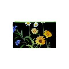 Flowers Of The Field Cosmetic Bag (xs) by Nexatart