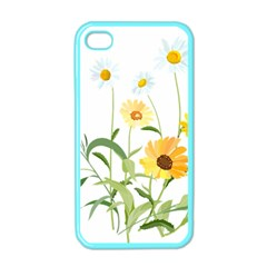 Flowers Flower Of The Field Apple Iphone 4 Case (color) by Nexatart