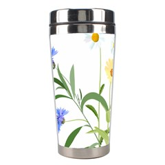 Flowers Flower Of The Field Stainless Steel Travel Tumblers by Nexatart