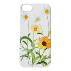 Flowers Flower Of The Field Apple Iphone 5s/ Se Hardshell Case by Nexatart