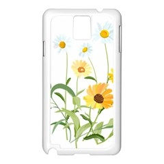Flowers Flower Of The Field Samsung Galaxy Note 3 N9005 Case (white) by Nexatart