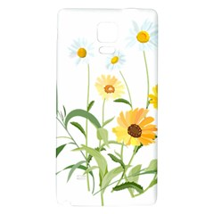 Flowers Flower Of The Field Galaxy Note 4 Back Case by Nexatart