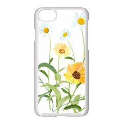 Flowers Flower Of The Field Apple Iphone 7 Seamless Case (white) by Nexatart