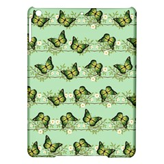 Green Butterflies Ipad Air Hardshell Cases by linceazul