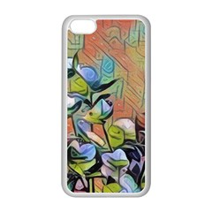Spring Flowers Magic Cube Apple Iphone 5c Seamless Case (white) by DeneWestUK