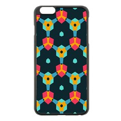 Connected Shapes Pattern    Apple Iphone 6 Plus/6s Plus Hardshell Case by LalyLauraFLM