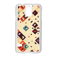 Squares In Retro Colors   Motorola Moto G (1st Generation) Hardshell Case by LalyLauraFLM