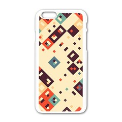 Squares In Retro Colors   Motorola Moto E Hardshell Case by LalyLauraFLM