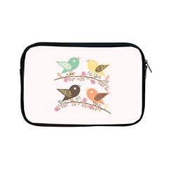 Four Birds Apple Ipad Mini Zipper Cases by linceazul