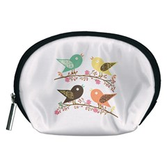 Four Birds Accessory Pouches (medium)  by linceazul