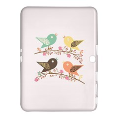 Four Birds Samsung Galaxy Tab 4 (10 1 ) Hardshell Case  by linceazul