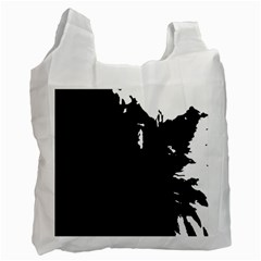 Abstraction Recycle Bag (one Side)
