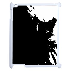 Abstraction Apple Ipad 2 Case (white) by Valentinaart