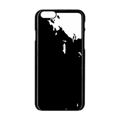 Abstraction Apple Iphone 6/6s Black Enamel Case by Valentinaart