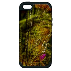 Dragonfly Dragonfly Wing Insect Apple Iphone 5 Hardshell Case (pc+silicone) by Nexatart