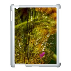 Dragonfly Dragonfly Wing Insect Apple Ipad 3/4 Case (white) by Nexatart