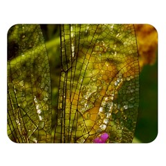 Dragonfly Dragonfly Wing Insect Double Sided Flano Blanket (large)