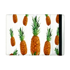 Pineapple Print Polygonal Pattern Apple Ipad Mini Flip Case by Nexatart