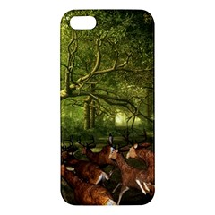 Red Deer Deer Roe Deer Antler Iphone 5s/ Se Premium Hardshell Case