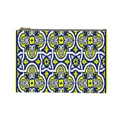 Tiles Panel Decorative Decoration Cosmetic Bag (large)  by Nexatart