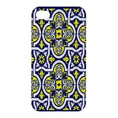 Tiles Panel Decorative Decoration Apple Iphone 4/4s Hardshell Case by Nexatart