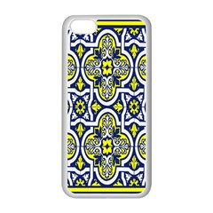 Tiles Panel Decorative Decoration Apple Iphone 5c Seamless Case (white) by Nexatart