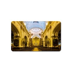 Church The Worship Quito Ecuador Magnet (name Card) by Nexatart