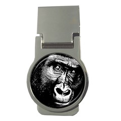 Gorilla Money Clips (round)  by Valentinaart