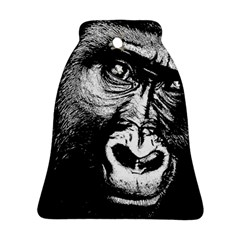 Gorilla Bell Ornament (two Sides) by Valentinaart