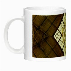 Steel Glass Roof Architecture Night Luminous Mugs by Nexatart