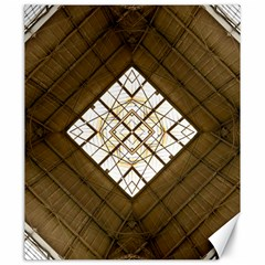 Steel Glass Roof Architecture Canvas 20  X 24   by Nexatart