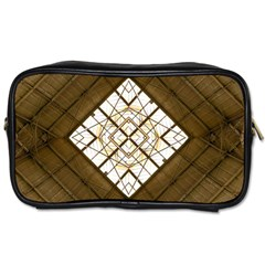 Steel Glass Roof Architecture Toiletries Bags by Nexatart