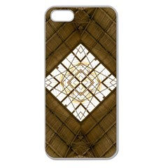 Steel Glass Roof Architecture Apple Seamless Iphone 5 Case (clear) by Nexatart
