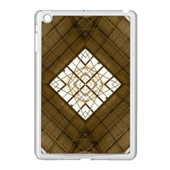 Steel Glass Roof Architecture Apple Ipad Mini Case (white) by Nexatart