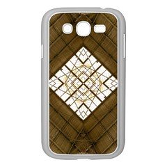 Steel Glass Roof Architecture Samsung Galaxy Grand Duos I9082 Case (white) by Nexatart