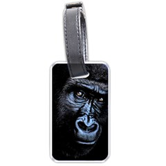 Gorilla Luggage Tags (one Side)  by Valentinaart