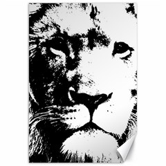 Lion  Canvas 20  X 30   by Valentinaart