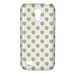 Angry Emoji Graphic Pattern Galaxy S4 Mini by dflcprints
